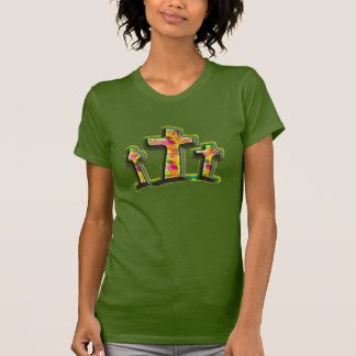 Christian shirt psychedelic colors