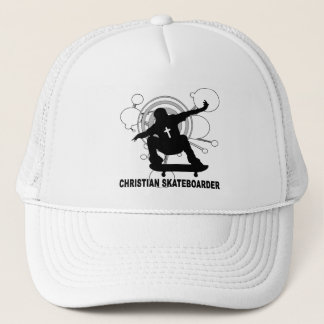 Christian Skateboarder Trucker Hat