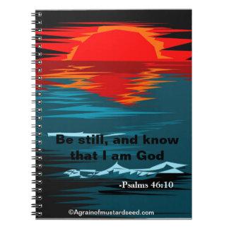 Christian Spiral Notebook