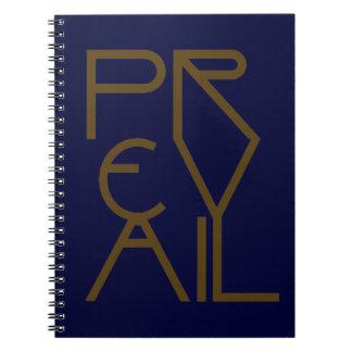 Christian Spiritual Prophetic Warfare PREVAIL Notebooks