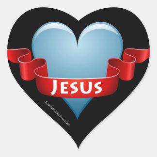 Christian Heart Sticker