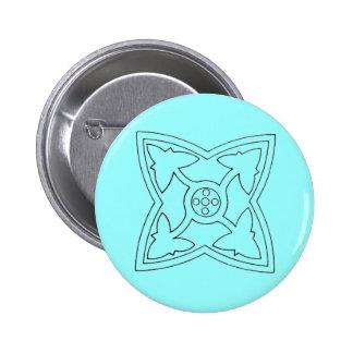 Christian Symbols Button