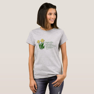 Christian T-Shirt for Women - Isaiah 40:8