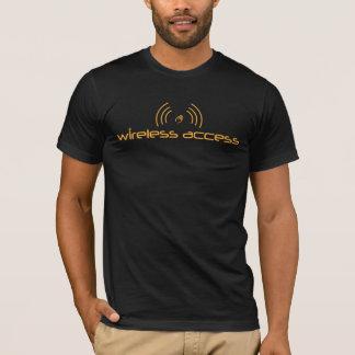 Christian t-shirt: Wireless Access (prayer) T-Shirt