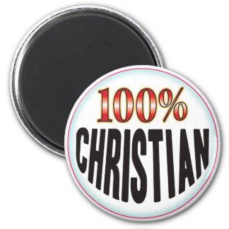 Christian Tag Refrigerator Magnet