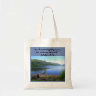 Christian Tote Bag - Exodus 14:14