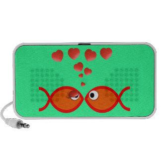 Christian Valentine Orange v2 iPod Speakers