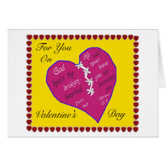 Christian Valentine's Day Card