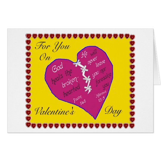 Christian Valentine's Day Card