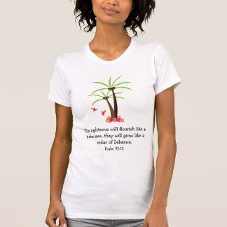 Christian Verse Tropical Trees Shirt