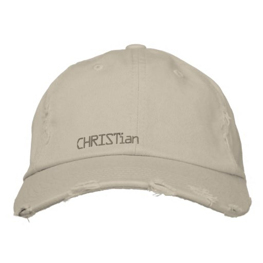 CHRISTian-vintage hat Baseball Cap