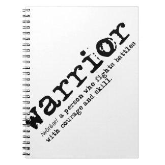 Christian Warrior Definition Devotional Notebook
