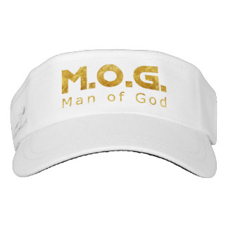 Christian Warrior Gold M.O.G. (Man of God) Visor