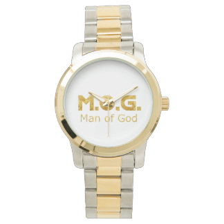 Christian Warrior Gold M.O.G. (Man of God) Watch