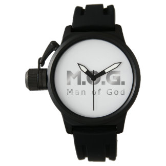 Christian Warrior Silver M.O.G. (Man of God) Watch