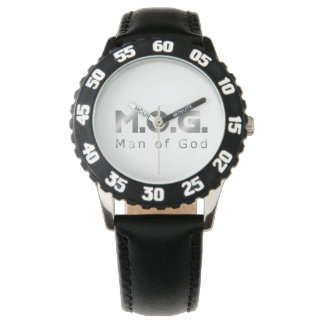 Christian Warrior Silver M.O.G. (Man of God) Watches