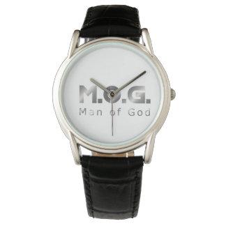 Christian Warrior Silver M.O.G. (Man of God) Wrist Watches