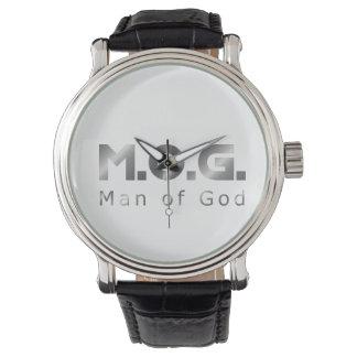 Christian Warrior Silver M.O.G. (Man of God) Wristwatches