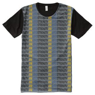 Christian Warrior Spiritual JOY LORD STRENGTH All-Over-Print T-Shirt