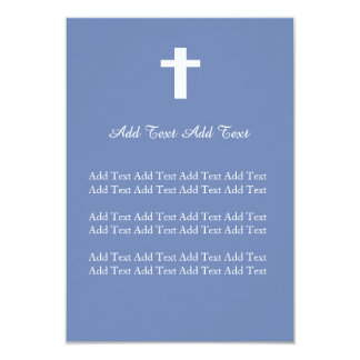 Christian Wedding, baptism, Funeral Custom Invite