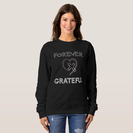Christian Women Sweatshirts Jesus Cross Heart