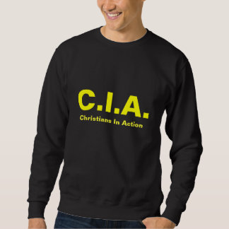 Christians In Action Mens Sweat Shirts