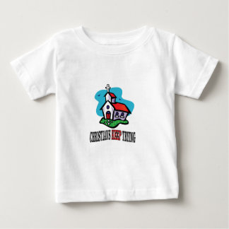 christians keep trying baby T-Shirt