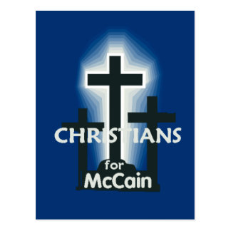 CHRISTIANS Postcard