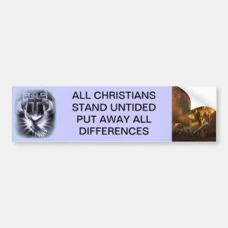 Christians United Bumper Sticker