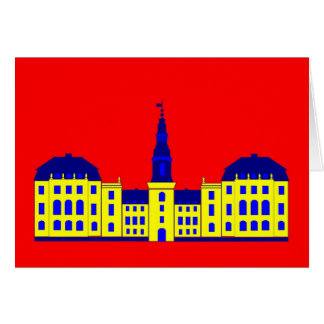 Christiansborg - yellow card