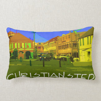 Christiansted throw pillow
