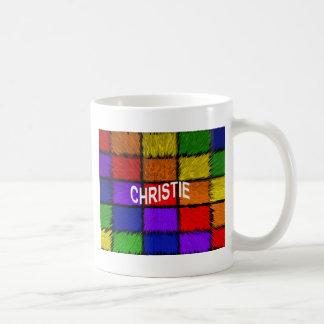 CHRISTIE COFFEE MUG