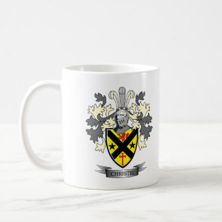Christie Family Crest Coat of Arms Coffee Mug