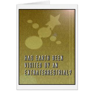 "Christimas Card 2004: ""Extraterrestrial"" Theme"
