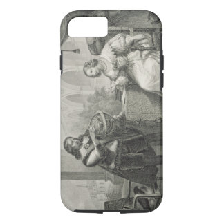 Christina (1626-89) Queen of Sweden, from a series iPhone 7 Case