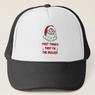 Christma Realest Trucker Hat