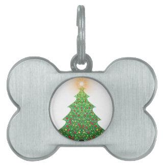 christmas-1081473 pet ID tag