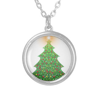 christmas-1081473 silver plated necklace