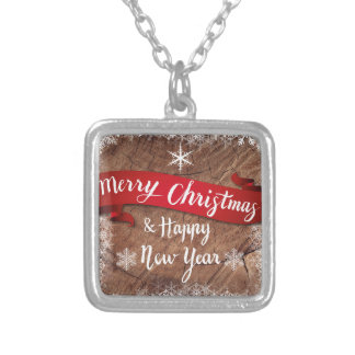 christmas-1869342 silver plated necklace