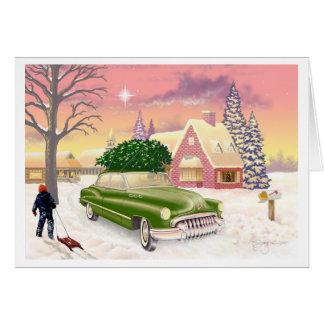 Christmas 1951 card