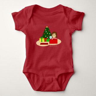 Christmas 1 baby bodysuit