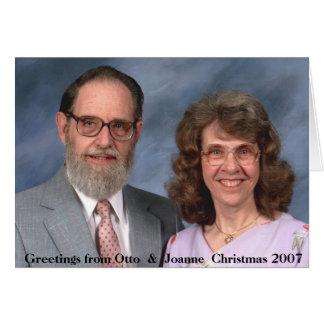 Christmas 2007 card