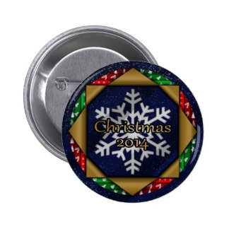 Christmas 2014 2 inch round button