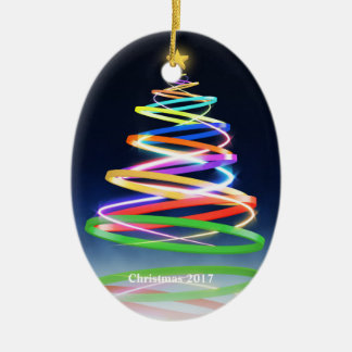 Christmas 2017 Ornament Swirl Tree
