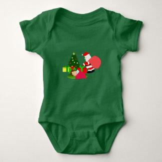 Christmas 2 baby bodysuit