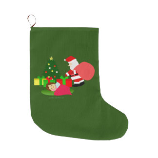 Christmas 2 large christmas stocking