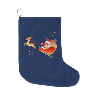 Christmas 3 large christmas stocking