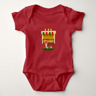 Christmas 4 baby bodysuit
