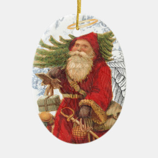 Christmas 4 Saint Nicholas Ceramic Ornament