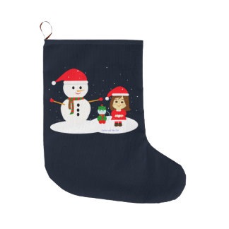 Christmas 5 large christmas stocking